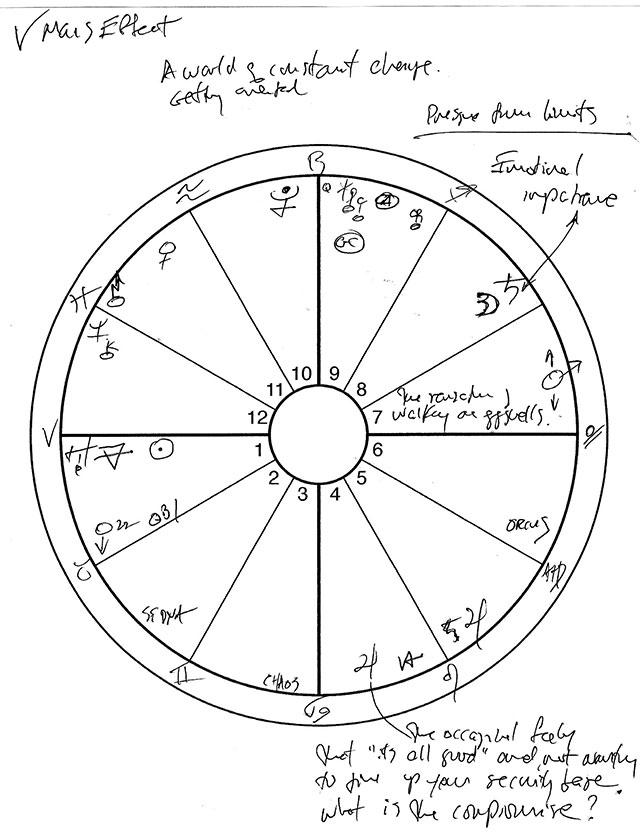 Aries sketch.