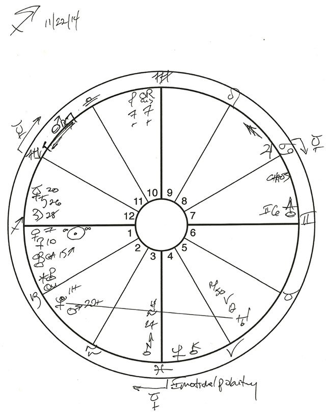Sagittarius sketch.