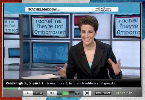 Rachel Maddow on the myth of bipartisanship