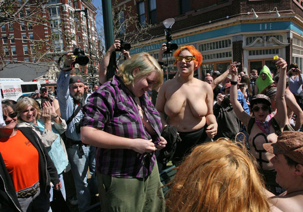 Portland Maine Breast Rally