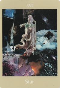 Star -- Voyager Tarot deck.