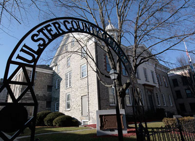 Ulster County Courthouse, where the lawsuit took place before State Supreme Court Judge Christopher Cahill. Photo by Eric Francis.