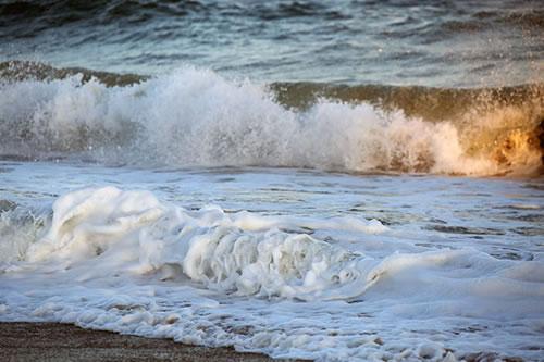 Montauk surf, photo by Eric.