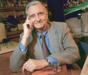 Edward O. Wilson, author of Biolphila. Photo by Jim Harrison - Wikimedia commons.