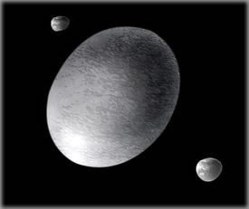 2003 EL 61, now known as Haumea.