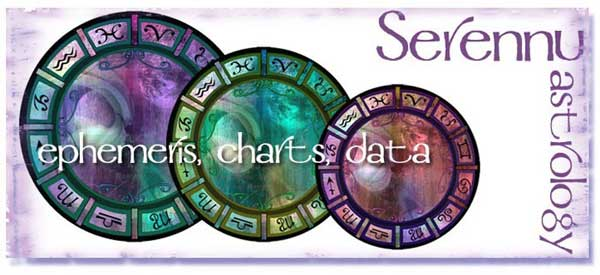 serennu astrology ephemeris