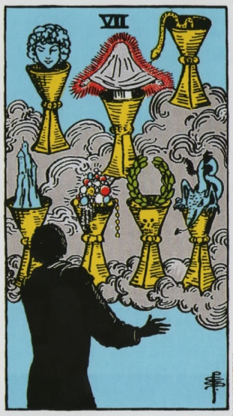 The 7 of Cups – The other side of the experience – Astrology and Horoscopes by Eric Francis