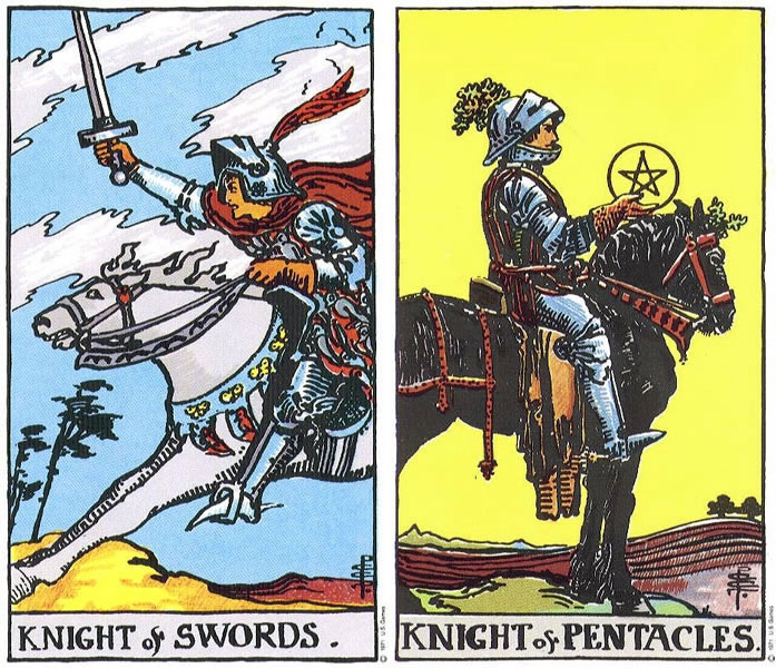 Into the world: the Knights in tarot – Astrology and