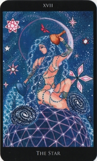 The Star -- Rosetta Tarot deck.