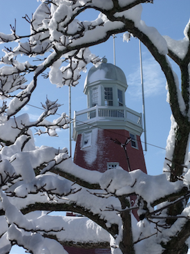 The Portland Observatory, Portland, Maine. Photo by Amanda Painter.