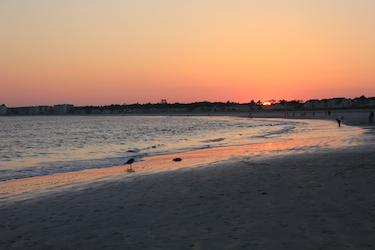 Sun and Neptune; Pine Point, Maine. Photo by Amanda Painter.