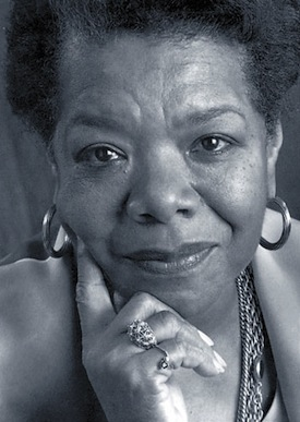 Dr. Maya Angelou. Photo: Missouri Women's Council
