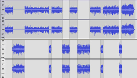Tonight's edition of Planet Waves FM consists of 13 separate elements woven seamlessly into one program -- music, my voice, interview segments and actualities, many of which required editing.