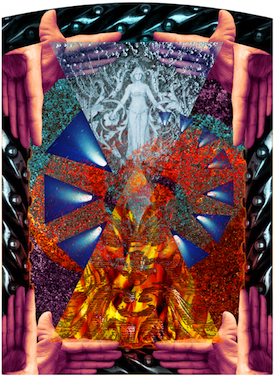 Gnosis from the Gnosis Triptych by Charlie Lemay