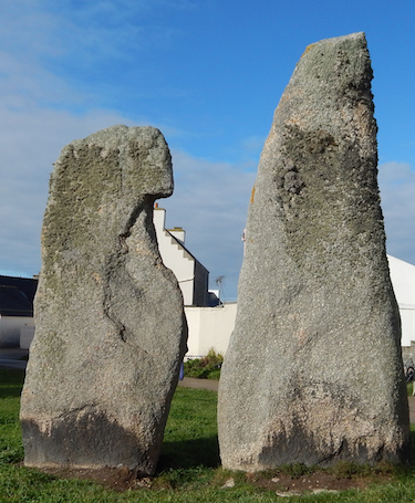 Menhirs | The Talkers; photo by Jeanne Treadway.